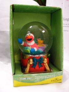 Elmo as Santa